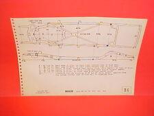 1953 BUICK SPECIAL 40 SUPER 50 ROADMASTER 70 SKYLARK FRAME DIMENSION CHART