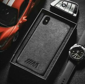 iPhone Fit BMW Sports Suede Alcantara Suede ALL MODELS Cases Cover UK SELLER