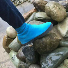 CW_ Silicone Overshoes Rain Waterproof Shoe Covers Boot Cover Recyclable Exquisi