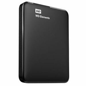 WD HDD portable hard disk 1TB USB3.0 Elements Portable WDBUZG0010B... From Japan