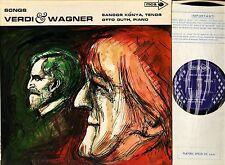 MUCS 116 SANDOR KONYA/OTTO GUTH verdi and wagner songs uk mca 1968 LP PS VG/EX