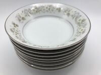 Imperial China WILD FLOWER Berry Fruit Bowl Lot of 8 Pattern 745