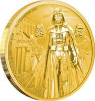 Darth Vader™ - Star Wars™ Classic (1.) - Niue 2016- 1 oz Gold PP - 250$