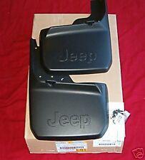 2007-2013 Jeep Wrangler Rear Deluxe Molded Splash Guards-Mopar OEM