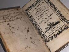 Scuola delle Fanciulle del 1788 libro antico