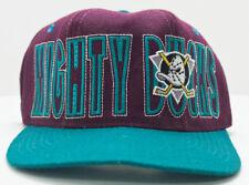 Vintage Mighty Ducks Hockey Hat Starter Stretch Fit 6 5/8 - 7 1/8 Size 1