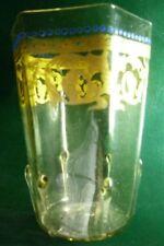 """Ancient Glass"" Roman/Greek/Egyptian ? Clear Blown Glass Wine Pre-1000 AD Vessel"