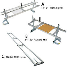14 2436 Portable Chainsaw Mill Planking Mill 9ft Rail Mill Guide System