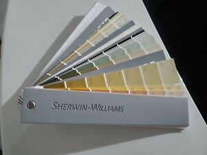 2020 Sherwin Williams Paint Fan - Deck Interior Exterior Color Samples