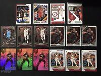 Bam Adebayo 16 Card Lot Optic Prizm Illuions & More Miami Heat