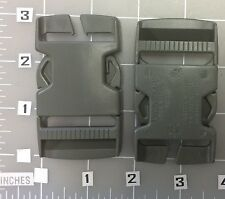ITW NEXUS BUCKLE FASTEX SR1 1/2 DOUBLE ADJUST SAGE LOT OF 2 NEW (G1_42)