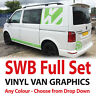 Graphics to fit Transporter Camper Van T5 T6 - Full decals sticker set - SWB