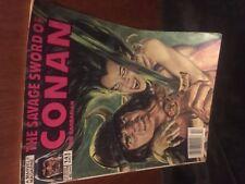 THE SAVAGE SWORD OF CONAN THE BARBARIAN  Vol.1 # 141 Oct. 1987