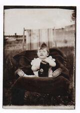 PHOTO Photographe photographié Pochette en cuir Appareil Caméra 1930 Étui Enfant