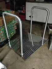 Aluminum ramp with Stainless Steel Hand Rails
