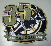 NHL BOSTON BRUINS BOBBY ORR THE GOAL PATCH VERY RARE