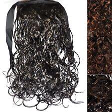 Natte / QUEUE DE CHEVAL Extensions Postiche compactage des cheveux bouclée