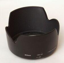Nikon Genuine HB-34 Petal Lens Hood for AF-S 55-200mm f/4-5.6 G ED