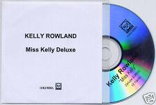 KELLY ROWLAND Miss Kelly Deluxe UK 13-trk promo test CD