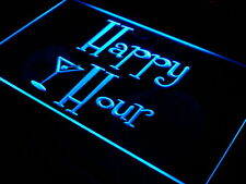 Happy Hour Our LED Cartel luminoso Publicidad Anuncio Bar Pub Restaurante
