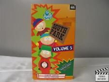 South Park Vol 5:  Starvin' Marvin & Mecha-Streisand (VHS, 1997)