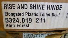 American Standard Rise & Shine Hinge Elongated Plastic Toilet Seat 5324.019.211