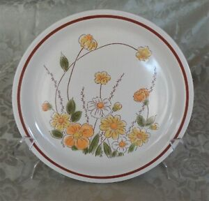 Vintage Camelot Stoneware Dinner Plate *Spring Meadow *Made in Japan