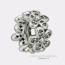 Authentic Pandora Silver Dazzling Daisies Clear CZ Spacer 792053CZ *SPRING 2017
