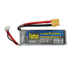 2200mAh 11.1V 40C 3S XT60 Plug Lipo Battery For RC Helicopter Airplane Align Car