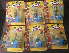 The Simpsons WOS Series 7 W/ Officer Marge & 5 others (lot of 6) NIB