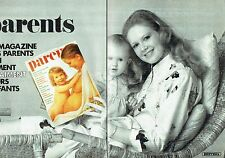 PUBLICITE ADVERTISING 0217  1981  le magazine Parents (2 pages)