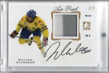 2014 ITG Draft Prospects Hockey PATCH/AUTO #PA-32 William Nylander RC #d 2/2