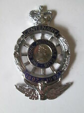 RAC type 1 centenary badge 1997 complete in box.AA.Motor club badge.