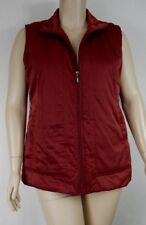 Black Pepper Rust Longline Sleeveless Zip Through Vest Plus Size 20 S39