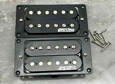 Wilkinson Humbucker Alnico-Set für E-Gitarre in Schwarz Farbe