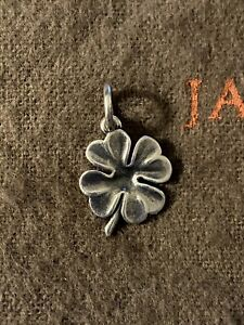 James Avery Four Leaf Clover Shamrock Charm Sterling Silver