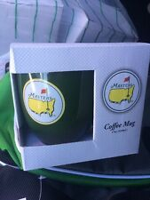 AUGUSTA NATIONAL MASTERS CUP~ Coffee  Green NEW~ MASTERS GOLF LOGO!