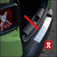 Protezione soglia carico Jeep Renegade acciaio SATINATO paraurti battivaligia