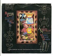 45RPM, BONNIE RAITT // & AARON NEVILLE ' BABY MINE '; M- '  ROCK ' CAJUN