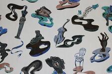 Pierre Frey curtain upholstery fabric design Reve de Psychanalyste 3 metres