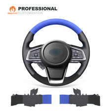 Genuine Leather Suede Steering Wheel Cover for Subaru Forester Ascent Outback
