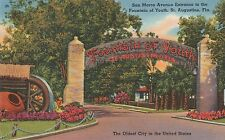 (LAM) P - St. Augustine, FL - Entrance to the Fountain of Youth