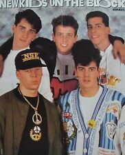 NEW KIDS ON THE BLOCK - A2 Poster (XL - 42 x 55 cm) - Clippings Fan Sammlung NEU