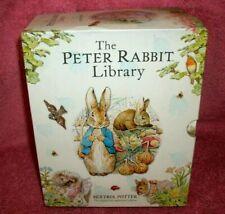 BEATRIX POTTER- PETER RABBIT LIBRARY - 12 DIFFERENT CHILDREN'S BOOKS - 2016