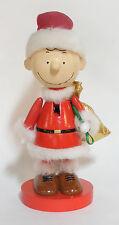 KURT S. ADLER PEANUTS CHARLIE BROWN WOODEN NUTCRACKER CHRISTMAS DECORATION