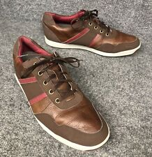 FootJoy Contour Casual Spikeless Brown Golf Shoes 54371 Men's Size 11.5 M In Euc