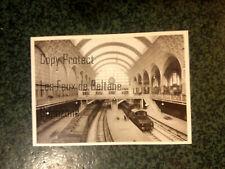 GARE ORSAY 1902 trains   carte postale postcard