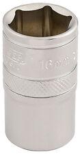 ORIGINAL Draper 1.3cm Entrada Cuadrada 6 puntos Vaso Medida Métrica (16mm) 16606