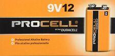 Procell 9 Volt Batteries, Duracell, 12 pack