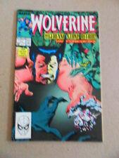 Wolverine 11 .New Costume - Marvel . 1989 -     FN / VF